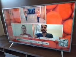 """Smart TV Ultra Slim 4K 50"""" com garantia de fábrica"""