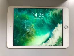 Apple iPad Mini 4 Gold Modelo A1550 128gb 4G - Na Garantia até jan/21