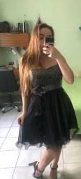 Vestido festa preto