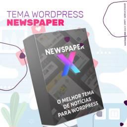 Tema Wordpress Portal De Notícias Blog Newspaper Ativado