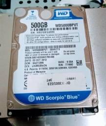 HD de Notebook 500GB