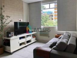 Apartamento à venda com 1 dormitórios em Humaitá, Rio de janeiro cod:CPAP10835