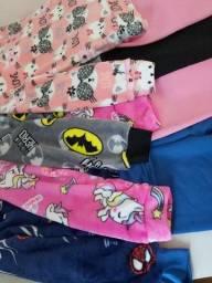 Pijama infantil quentinho para o inverno! 0 a 12 anos
