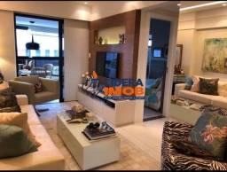 Lidera Imob - Apartamento Mobiliado no Caminho das Árvores, 2 Suítes, Climatizado, para Lo