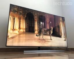 Smart tv samsung qled 4k q80r 55 polegadas NF caixa completa impecável.