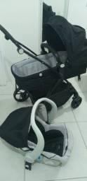 Carrinho maly + bebe conforto