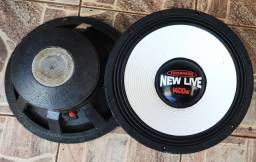 2 alto falantes Tomahawk 1.400 watts