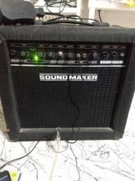 Cubo guitarra/ violão Sound Maker top