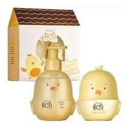 Kit Presente Boti Baby Sol: 01 Colônia 100ml + 01 Sabonete Líquido Corpo