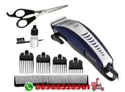 Maquina de cortar cabelo mondial cr7 entrega grátis