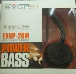 R$ 69,90Headphone Power Bass EVHP-20M Ever Tech