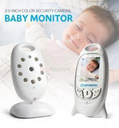 Baba Eletrônica Vídeo e Áudio Digital C/ Monitor LCD e Visão Noturna