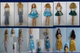 Lote de bonecas Barbie princesas etc