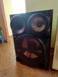 R$:650 vendo uma caixa de som Sony sh2000