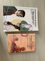 Livros ( a moreninha e vítimas algozes )