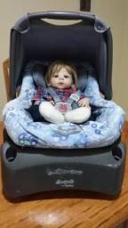 Bebê conforto + encaixe de banco da burigotto
