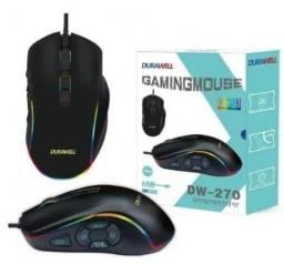 Mouse Gamer DW-270 - 10 Botões e 4 Velocidades DPI