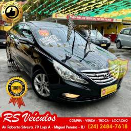 Hyundai Sonata Gls 2.0 Top de Linha 2 Tetos Solar Novo Demais - 2012