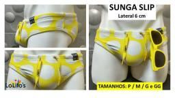 Sunga Slip - Amarela