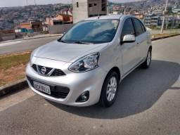 Nissan march sv2019 completo