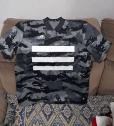Título do anúncio: Camisetas adidas, camisa para pescaria e bota couro ecológico
