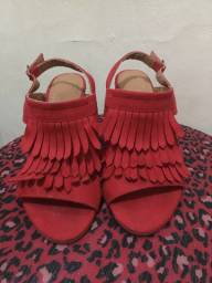 Sandálias conservadas