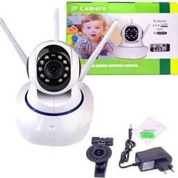 Câmera IP 3 antenas wi-fi wireless 3 geração - visão noturna