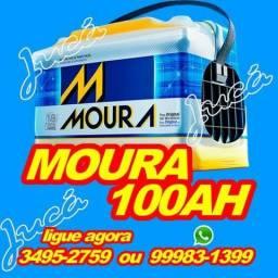 Promoçao relampago!!!!! bateria moura 100 ah + brindes