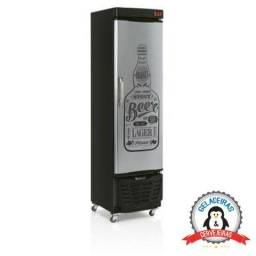 Geladeira Cervejeira Expositora Gelopar GRBA-230 GW