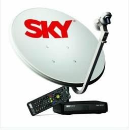 Alugue seu ponto sky com todos os canais sem sair de casa