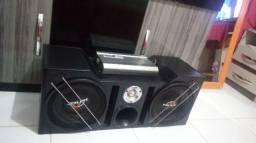 Caixa de som Hinor original com potencia