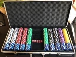 Maleta de Poker - 630 Fichas