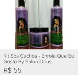 SOS Cachos - Enrola que eu gosto Salon Opus - 2x CARTÃO SEM JUROS