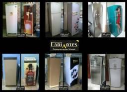 Envelopamento de geladeiras e freezers