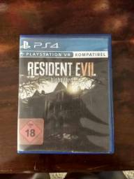 Jogo ps4 resident Evil 7