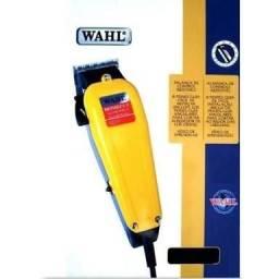 Maquina De Cortar Cabelo Whal Profissional 17 Peças Amarela
