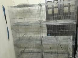 Vendo gaiolas para passarinhos