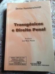 Transgênicos e Direito Penal - Denise Hammerschmidt (ótimo estado)