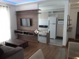 Apartamento com 3 dormitórios para alugar, 84 m² - Condomínio Pátio Andaluz - Indaiatuba/S