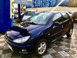206 2003/2003 1.6 passion 16v gasolina 4p manual em joinville - 2003
