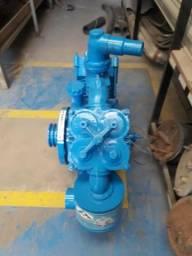Compressor para descarga de cimento para instalação em cavalo mecânico ou estacionário