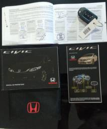Honda civic lxr automático - 2016