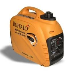 Gerador energia Inverter Búffalo Bfg 2000 2,2Kva Partida Manual Monofásico - 127V