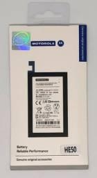 Bateria Motorola HE50 Moto E4 e E4 Plus 4850mAh Garantia Nova e Original