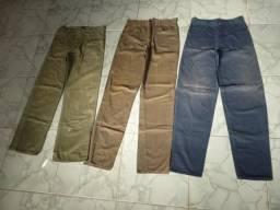 Calças Jeans tamanho 40-42 Entrega grátis Contato whatsapp