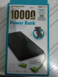 Carregador portátil Power bank pineng pn-951 slim 1.000 mah