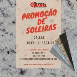 Soleiras em Promoção 1,00x0,12 Dallas