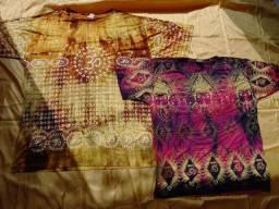 Camisas indianas novinhas a pronta entrega