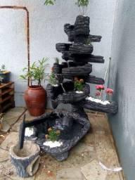 Fonte de Água cascata para jardim