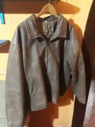 Jaqueta de couro autentica